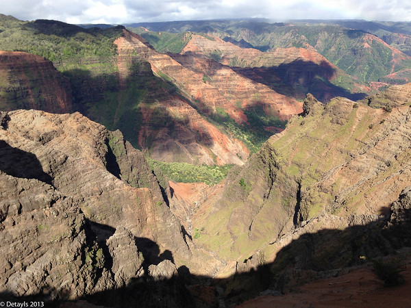 Waimea Canyon, Kauai in May 2013