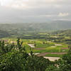 Overlooking the valley near Princeville, on the island of Kauai, Hawaii.