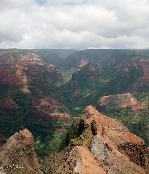 Waimea canyon, Kauai, Hawaii.
