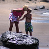 Wife & son-Glass Beach