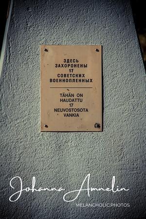 Kavilan muistomerkki neuvostosotavangeille