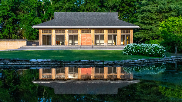 Main House Reflection