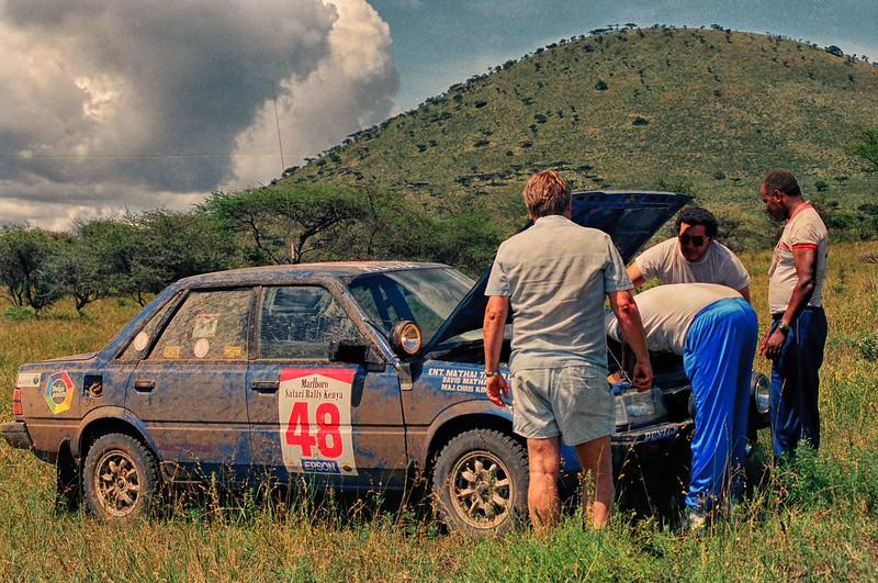 1989 Safari Rally at Chyulu Hills