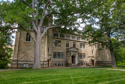 Built in 1926 on campus of Kenyon College in Gambier, Ohio, Samuel Mather Science Hall was a gift of Henry G. Dalton, and was considered at its dedication the finest labratory in the nation for an undergraduate college. Photographed July 16, 2017 by Joe Frazee.