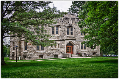 Ransom Hall on the Kenyon College campus in Gambier, Ohio in Summer 2010.