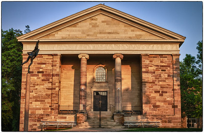Rosse Hall on the Kenyon College campus in Gambier, Ohio on May 27, 2012.