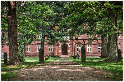 Bexley Hall on the Kenyon College campus in Gambier, Ohio.