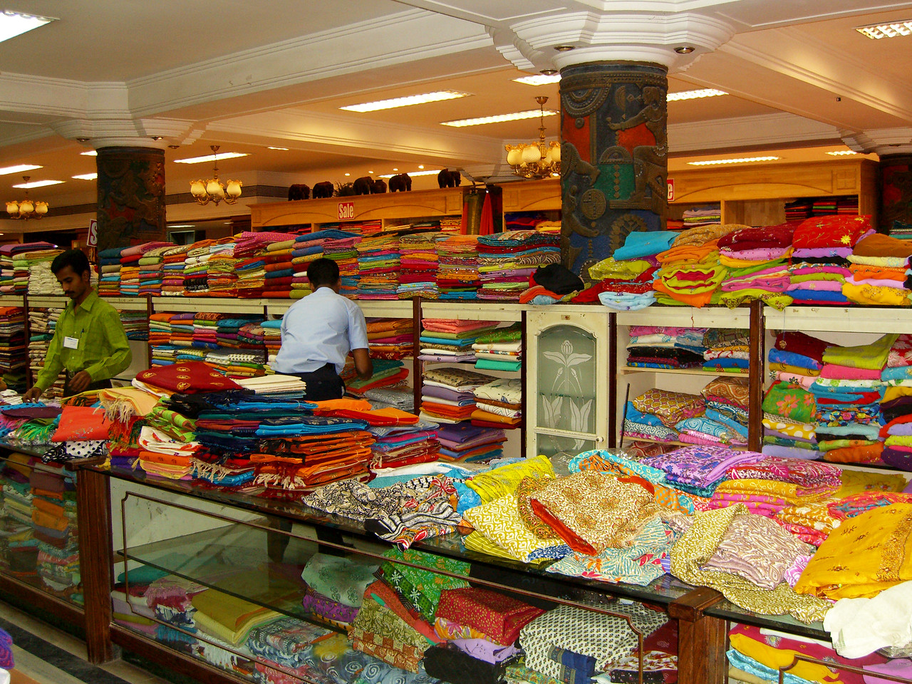Partha's Fabric Store