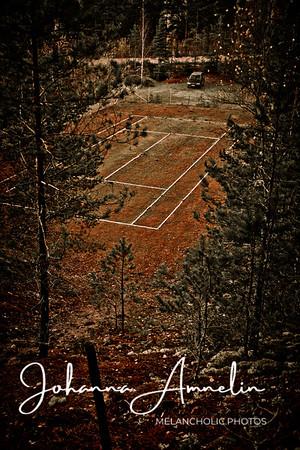 Kerkolan hylätty tenniskenttä