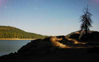 This photo is a 242 second exposure shot up at Shaver Lake up in the Sierras and is one of my all time favorites.