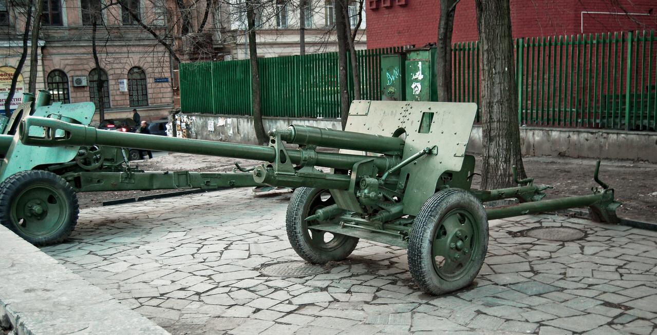 Anti-tank turret