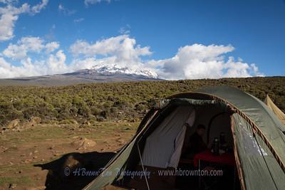 Kilimanjaro Day 2: Shira Camp 1