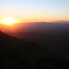 Sunrise over Mountains, Kitt Peak, Arizona
