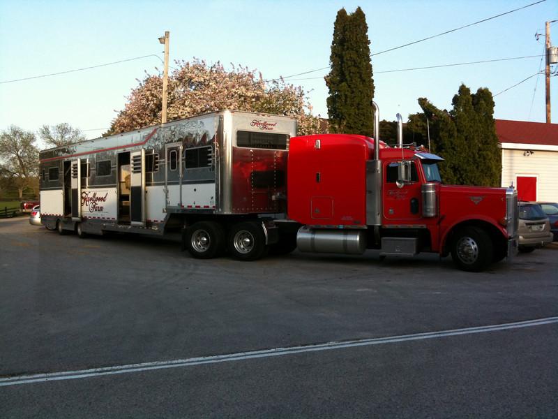 """The """"bus"""" at Knollwood Farm."""