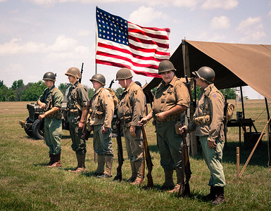 Photographed during The 2nd Annual Knox County D-Day Event held at the Knox County Airport near Mount Vernon, Ohio on June 11, 2016. Photo by Joe Frazee