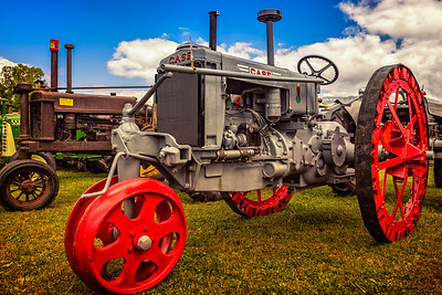 Photographed at the Oldtime Farming Festival in Centerburg, Ohio on September 20, 2015 by Joe Frazee.