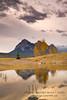 Sunrise at Preacher's Point, Abraham Lake, Alberta