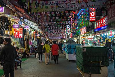Namdaemun market. Seoul, Korea.