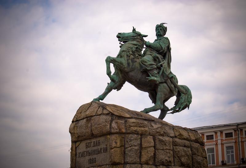 Bohdan Khmelnitsky Statue