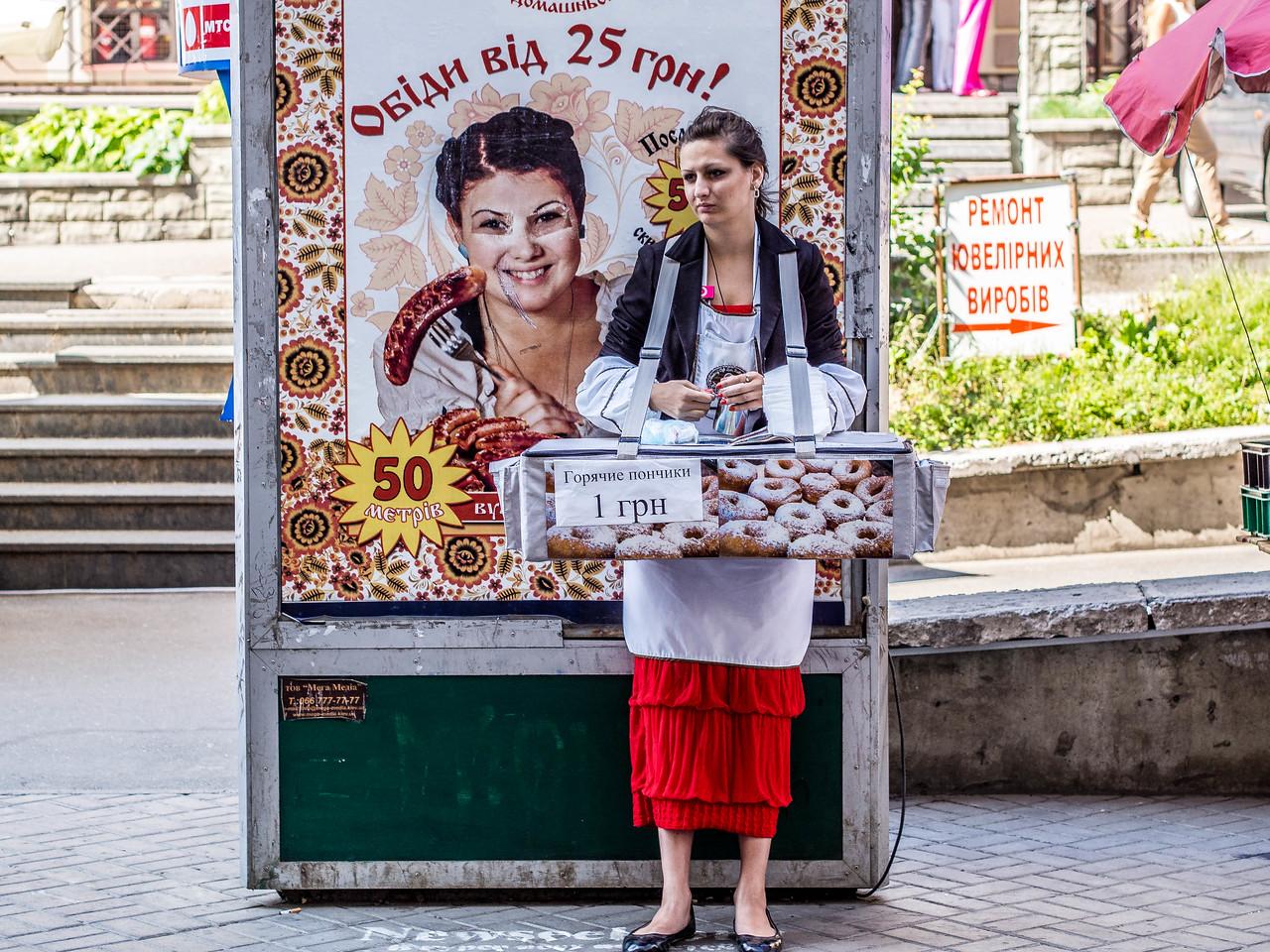 Kyiv's fast food