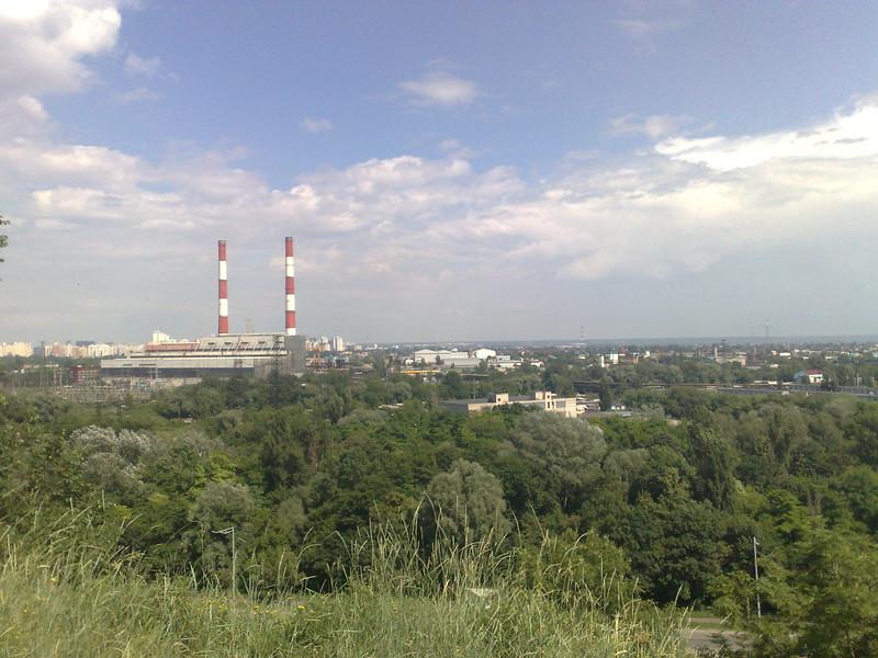 Вид на Киев с Лысой горы