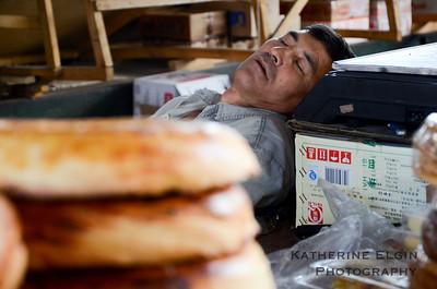 Osh Bazaar. Bishkek, Kyrgyzstan.  July 2016.