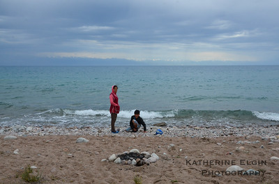 Lake Issyk-Kul, Kyrgyzstan.  July 2016.