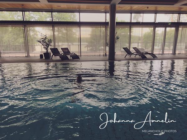 Vajaan vuorokauden pikarentoutuminen Långvikin kylpylähotellissa