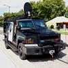 The Bearcat.  Police armored car.