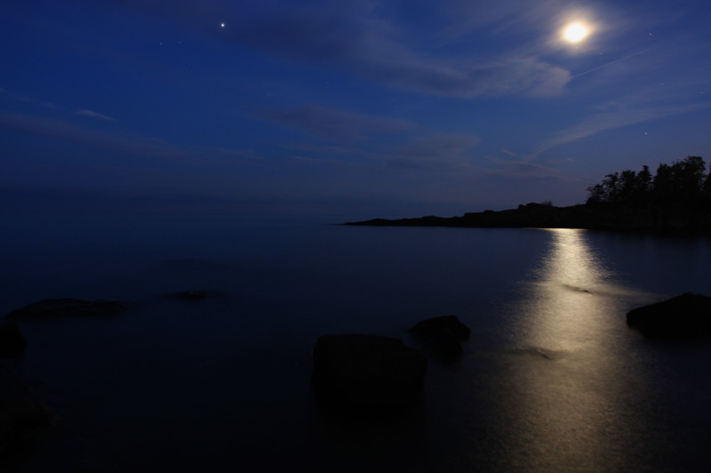 Cove Point moonlight