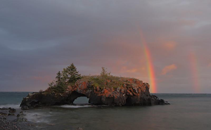 """Andrew yelled """"Rainbow!"""""""