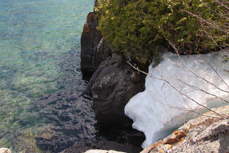 Still snow on Memorial Day '09