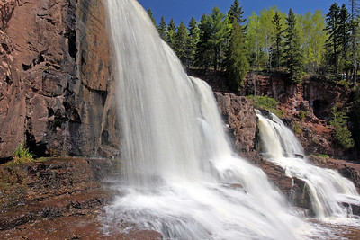 Middle Falls at Gooseberry Falls State Park