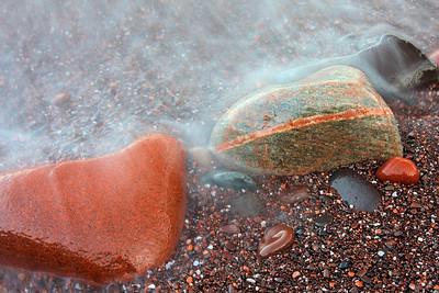 Rocks on Tettegouche Shoreline