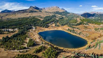 Little Molas Lake and The Colorado Trail