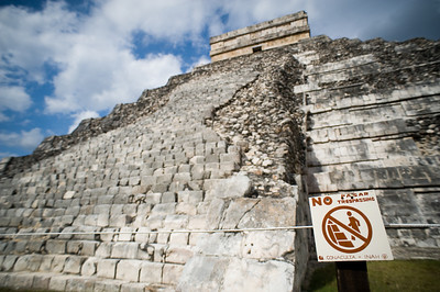 El Castill of Chichen Itza.