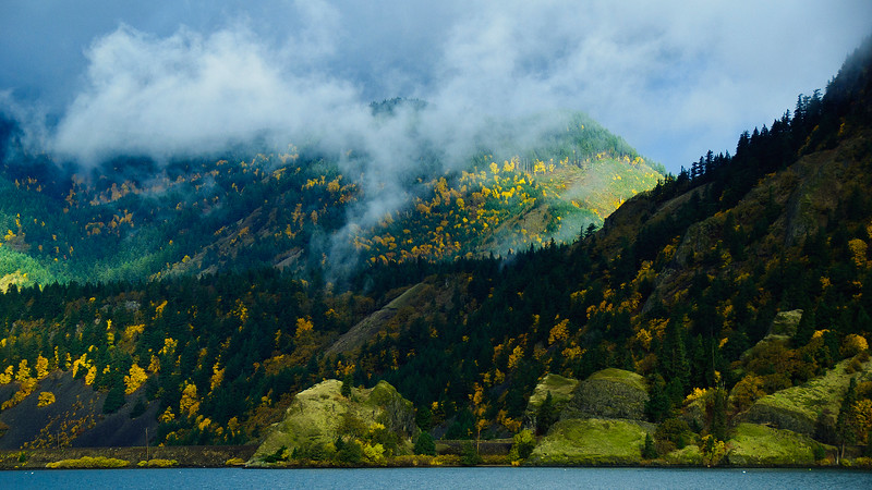 Northern shore by Hood River