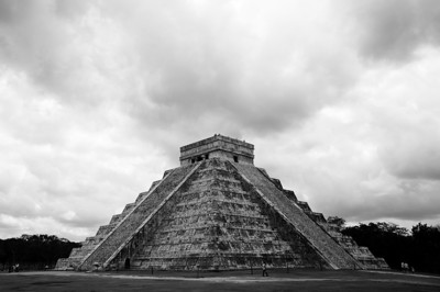 El Castillo of Chichen Itza.