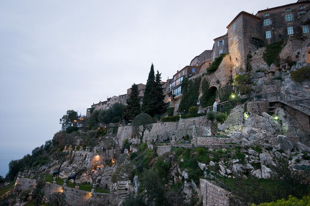 Eze village in Southern France.