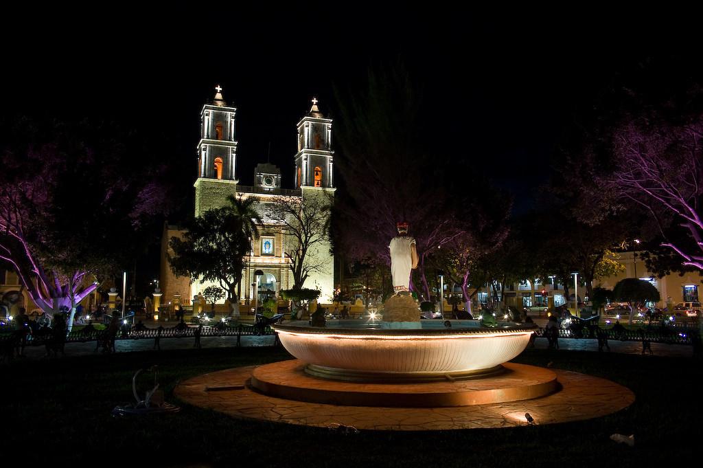Valladolid on the Yucatan peninsula in Mexico.