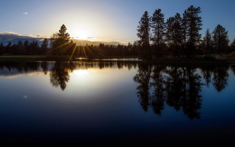 Sunriver Sunset May 2014