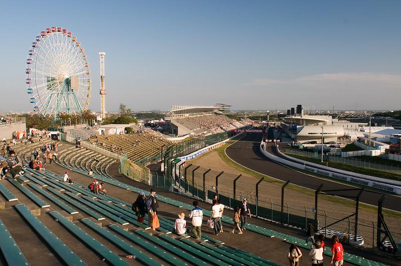 Suzuka racetrack in Japan.