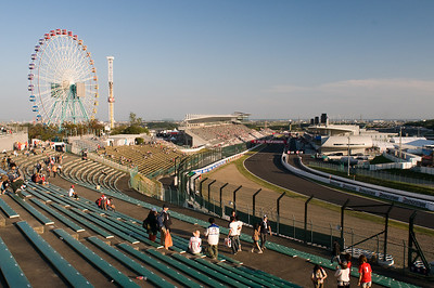 Suzuka racetrack in Japan.