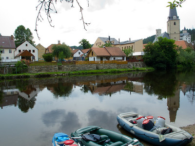 The Vltava River Czech Republic June 2011