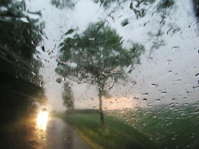 Thunderstorm in the Czech Countryside Czech Republic June 2011