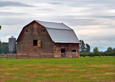 8194 - County Barn - 5x7