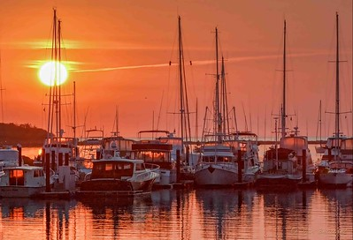 Wentworth Harbor Sunrise