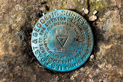 US Coast & Geodetic Survey marker at Angel's Rest, Oregon