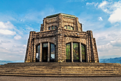 Vista House, Columbia Gorge, Oregon