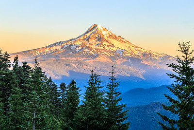 Sunset at Mount Hood